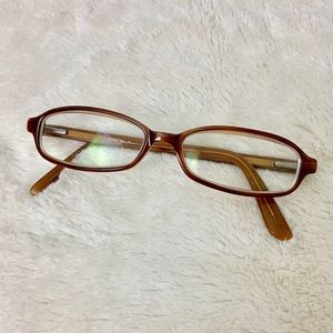 Couture RX Glasses Frames By Candies Tan Brown